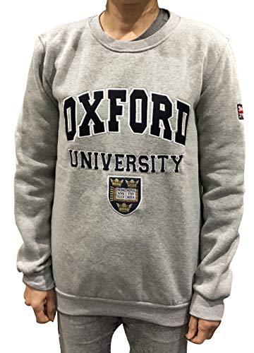 Sudadera Oficial de la Universidad de Oxford, Ropa Oficial de la Famosa Universidad de Oxford, Gris…