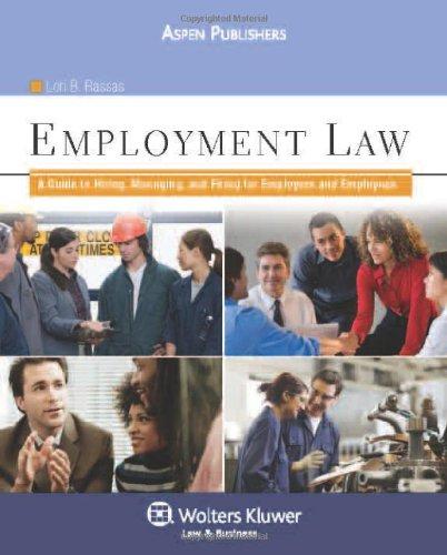 Hiring & Firing: Employment Law for Paralegals