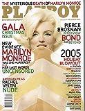 PLAYBOY MAGAZINE - DECEMBER 2005 - MARILYN MONROE - HOT PICTORIAL MEN'S INTEREST