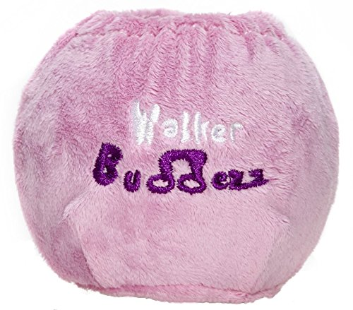Walker Buddezz SKNZZ Fun Customization Set for Mobility Devices, Walkers, Crutches, Canes and Rollators - Pink (2 Covers)