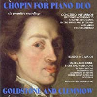 Chopin for Piano Duo by Goldstone (2009-03-10)