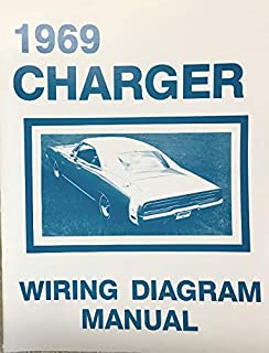 1969 DODGE CHARGER FACTORY ELECTRICAL WIRING DIAGRAMS & SCHEMATICS