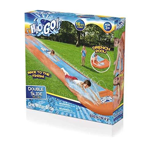 Bestway H2O GO! 16-Foot Double Water Slide