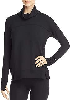 DKNY Sport Womens Turtleneck Athleisure Sweatshirt