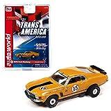 SC357-2 Auto World Thunderjet Pamelli Jones 1970 Ford Mustang HO Scale Slot Car