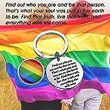 Zoom IMG-2 lesbian pride portachiavi lgbt regali