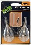 FOX Bolt Bubble Wasserkugel - 2 Karpfenposen zum Angeln auf Karpfen, Angelpose zum Karpfenangeln, Karpfenschwimmer, Oberflächenangeln, Größe:L