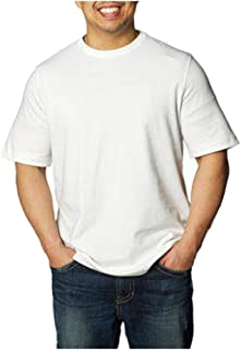 Kirkland Signature Men's Crew Neck T-Shirts 100% Cotton (Pack of 6)