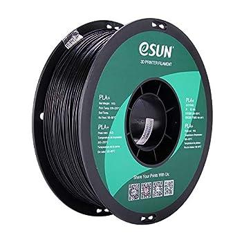 eSUN PLA PRO  PLA+  3D Printer Filament Dimensional Accuracy +/- 0.03mm 1kg Spool 1.75mm Black