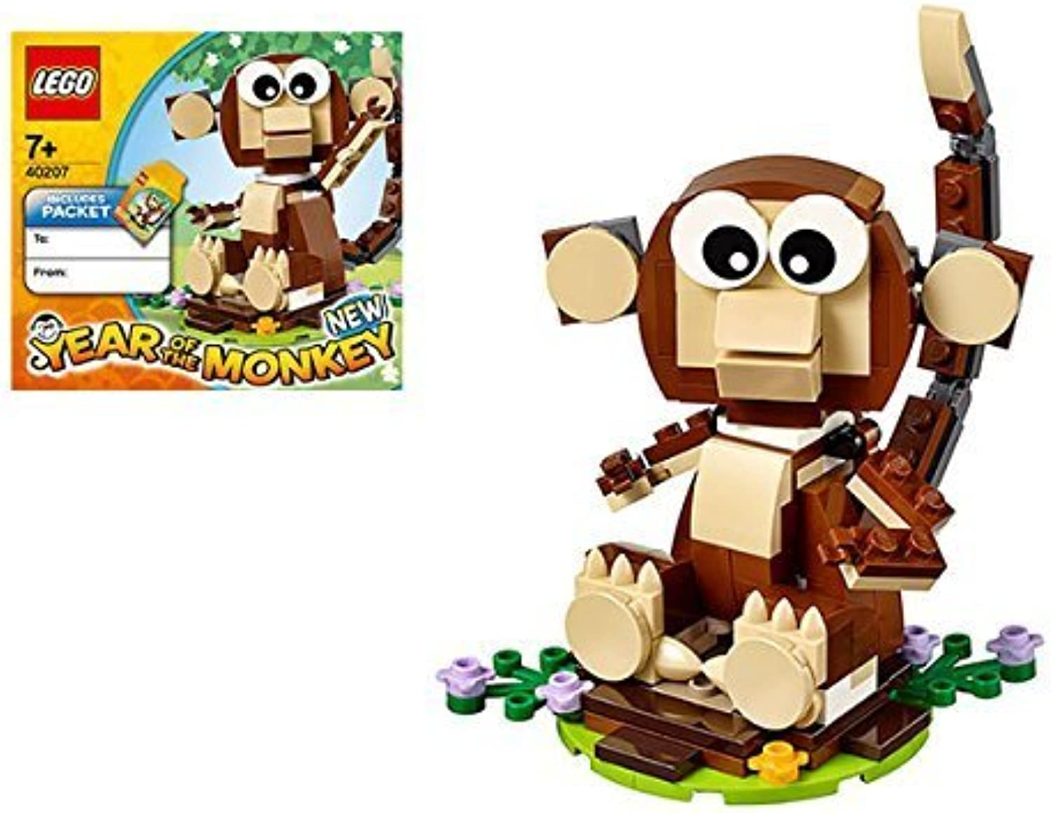 popular LEGO 40207 Year of the Monkey Monkey Monkey New Year Limited 2016 by LEGO  precio mas barato