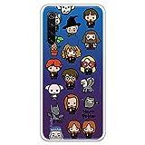 Funda para Xiaomi Redmi Note 8T Oficial de Harry Potter Personajes Iconos para Proteger tu móvil. Carcasa para Xiaomi de Silicona Flexible con Licencia Oficial de Harry Potter.