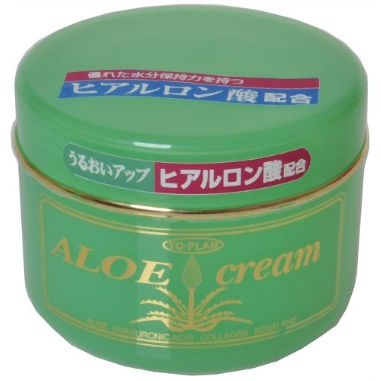 ツール止まるショップTO-PLAN(トプラン) ヒアルロン酸?アロエエキス?スクワラン配合アロエクリーム170g