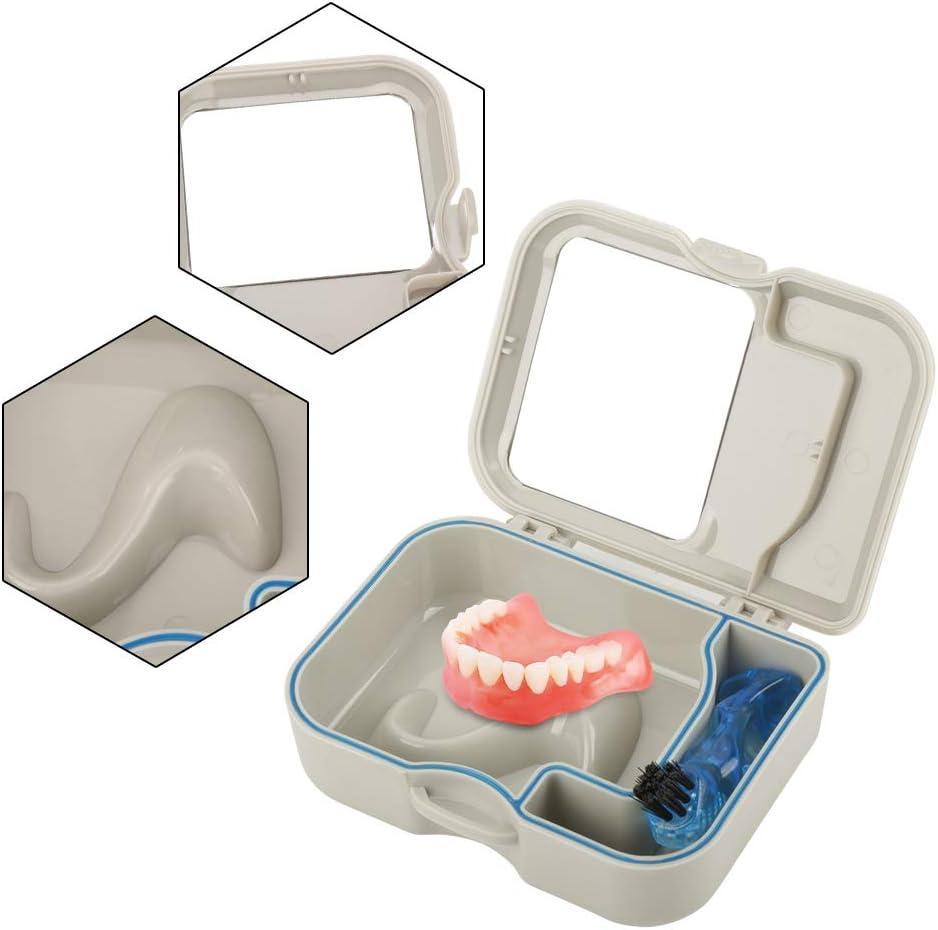 False Teeth Container Denture Box Case Max 70% OFF W Storage depot