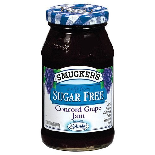 Smucker s Sugar Free Concord Grape Jam, 12.75 oz (3 Pack) by Smucker s
