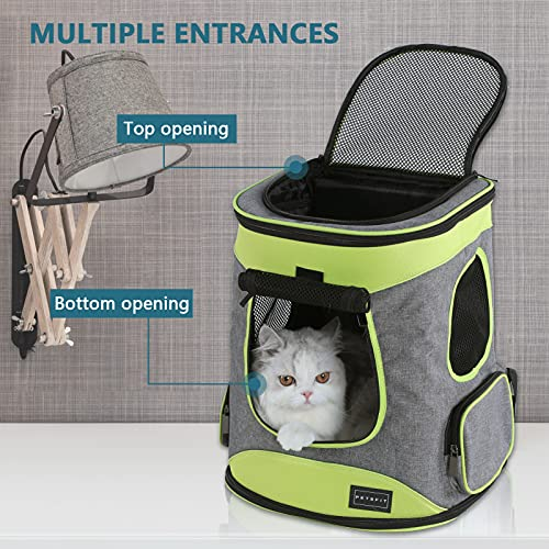 Petsfit Sturdy Hiking Pet Carrier Backpack for Pets up to 16LB