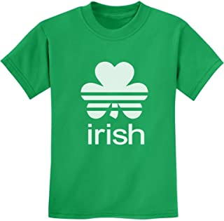 Tstars - St. Patrick's Day Lucky Charm Irish Clover Shamrock Youth Kids T-Shirt
