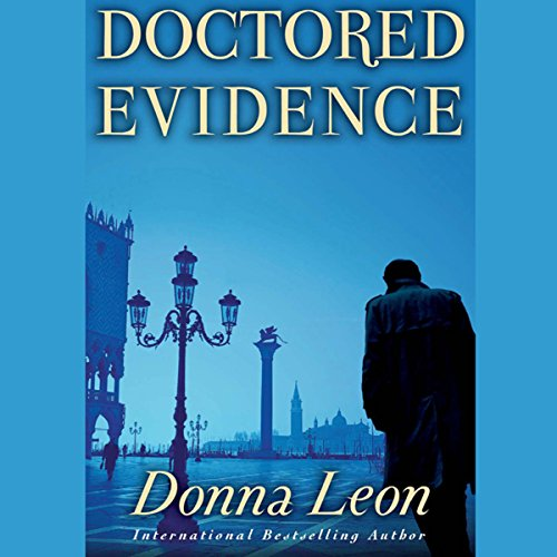 Doctored Evidence audiobook cover art