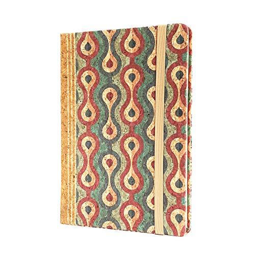 MenKai- Cuaderno azul/agenda pequeña/agenda notas 80 hojas