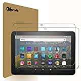 [2 Pack] OAproda Screen Protector for All-New Fire HD 8/Fire HD 8 Plus/Fire HD 8 Kids Edition Tablet (8-Inch 10th Generation-2020 Release) Tempered Glass/Anti-Scratch/High Definition/No Bubbles