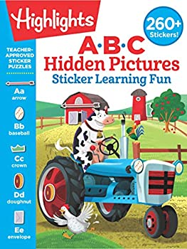 ABC Hidden Pictures Sticker Learning Fun  Highlights Hidden Pictures Sticker Learning