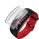 Ruentech Schutzhülle Kompatibel mit Samsung Gear Fit 2 Pro Schutzfolie Zubehör (3-White)