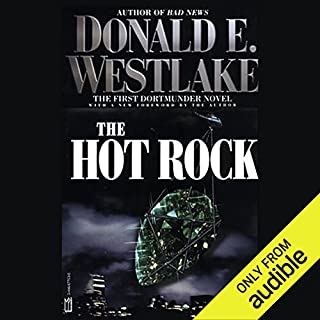 The Hot Rock audiobook cover art