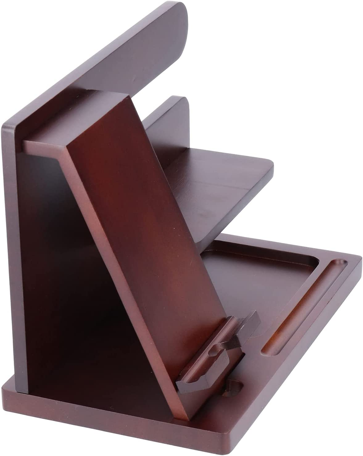 Wood Phone Storage Bracket Portable discount Organiz Holder safety Stand Tablet