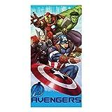 TDI Roman Kolodziejczyk Marvel Avengers Group - Toalla de baño, color rojo, azul y verde