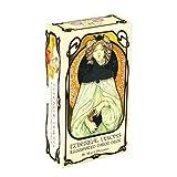 Tarot Cards, Oracle Cards Classic Design Tarot Deck Full English Tarot Deck para principiantes y lectores expertos, 81 tarjetas
