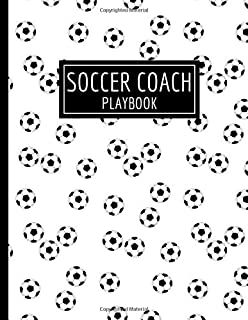 Soccer Coach Playbook: Youth Training & Planner Schedule Organizer. Thank you Appreciation Gift for Soccer Coaches.