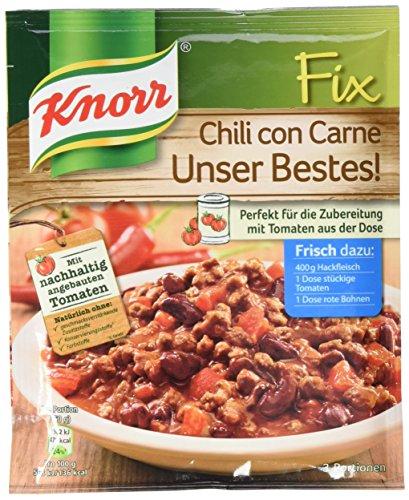 Knorr Fix Chili con Carne Unser Bestes 3 Portionen (22 x 49 g)