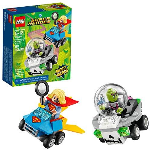 LEGO DC Super Heroes Mighty Micros: Supergirl vs. Brainiac 76094 Building Kit (80 Piece)