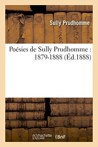 Poésies, 1879-1888 (Littérature)