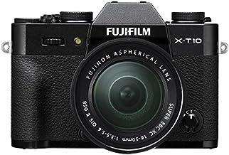 Fujifilm X-T10 Systemkamera inkl. Fujinon XC 16-50 mm Objektiv (16,3 Megapixel CMOS II Sensor) schwarz
