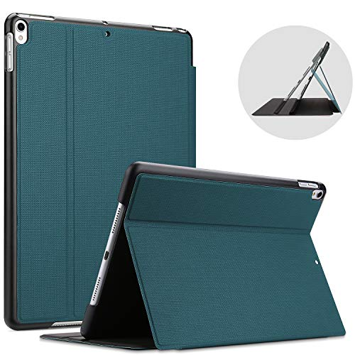 ProCase for iPad Air (3rd Gen) 10.5 Inch 2019 / iPad Pro 10.5' Case, Shockproof Lightweight Slim Stand Protective Case Folio Cover -Teal