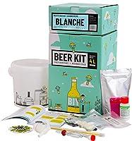Brassez 4 Litres d'une bière blanche à partir d'extrait de malt. Taux d'alcool estimé 6%. Ce Beer Kit débutant vous permet de brasser votre propre bière blanche à la maison. Le brassage à partir d'extrait de malt en poudre vous permet d'avoir 100% de...