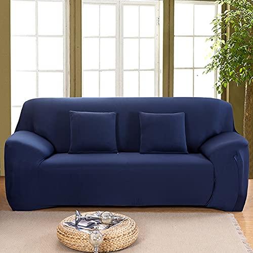 WXQY Funda de sofá elástica Gris Todo Incluido Funda de sofá Antideslizante sofá Toalla Funda de sofá Sala de Estar Funda de sofá A6 1 Plaza