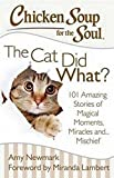 Chicken Soup for the Soul: The Cat Did What?: 101 Amazing...