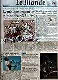 MONDE (LE) [No 19594] du 22/01/2008 - LE PRIX EUROPEEN DE LA RECHERCHE - EMPLOI -...
