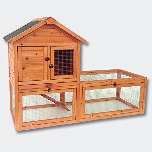 Gabbia per roditori e lepri Pollaio Recinto esterno Stalla per piccoli animali