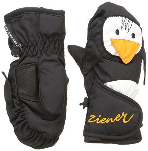 Ziener Baby LAFAUNA AS MINIS glove Ski-handschuhe / Wintersport | wasserdicht, atmungsaktiv, schwarz (black), 104