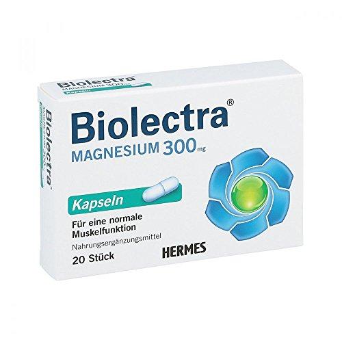 Biolectra Magnesium 300 mg Kapseln, 20 St. Kapseln