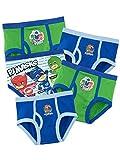 PJ Masks Ropa Interior para niños Aventuras en Pijamas - Paquete de 5-5 a 6...