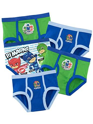 PJ Masks Biancheria Intima delle Ragazzi Super Pigiamini Confezione da 5 - Multicolore - 6 a 7 Anni