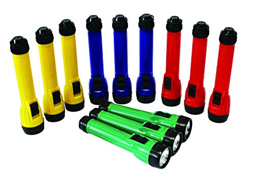 TickiT 48012 Handy Led Torch, 2 x AA Batterijen (Pak van 12)