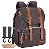 Diaper Bag Backpack, CANWAY Large Unisex Baby Bag Nappy Bag with...
