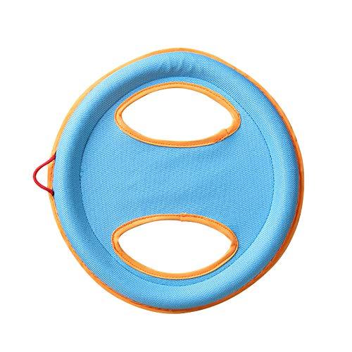ZHUYU Disco Volador para Perro/Perro Frisbee/para diversión interactiva al Aire Libre/arpillera Frisbee
