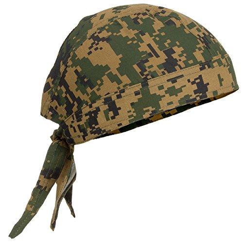 MFH Envoltura de Cabeza Estilo ejército