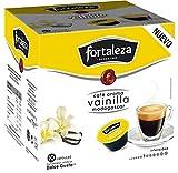 Café Fortaleza - Cápsulas Compatibles con Dolce Gusto, Café con Aroma a Vinilla Madagascar, Tueste Natural, 100% Arábica, Pack 3 x 10 - Total 30 cápsulas
