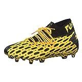 PUMA Future 5.1 Netfit FG/AG, Botas de fútbol para Hombre, Amarillo (Ultra Yellow Black), 40.5 EU